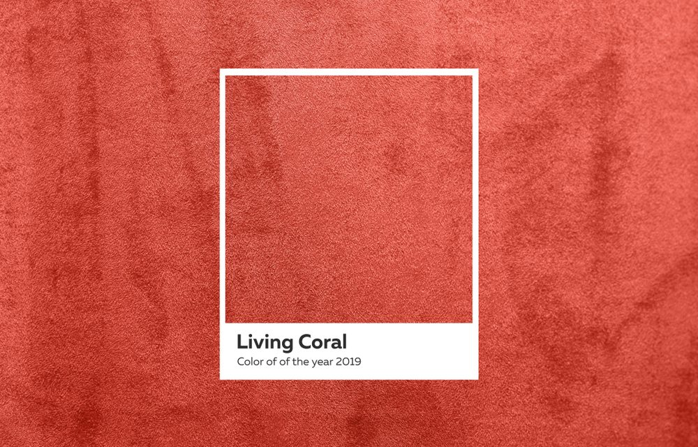 Pantone's Living Coral Comes Alive In The Home